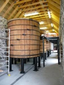 Washbacks, Ballindalloch Distillery