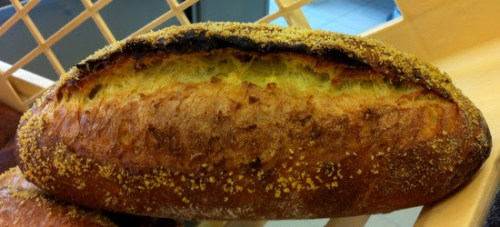 This is a corn loaf - it smells rather like tortillas!