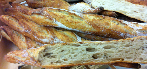 The baguette certainly has the right amount of holes!
