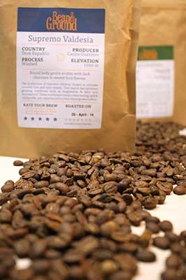 The pouches have great information about the coffee you're about to drink.