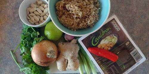 Fried rice is quick, tasty comfort food made with ingredients that I usually have to hand.