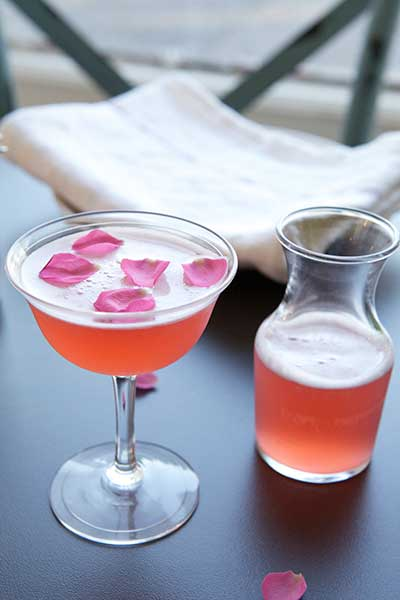 The Rose - one of Aizle's many cocktails