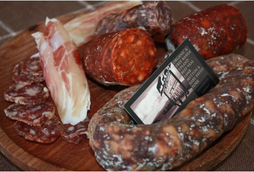 Peelham Farm Charcuterie Selection. Copyright Peelham Farm