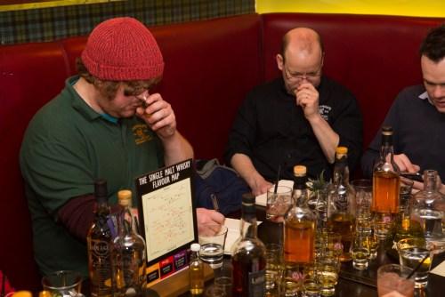 Whisky sampling