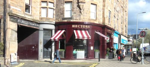 Hector's exterior beckons you in