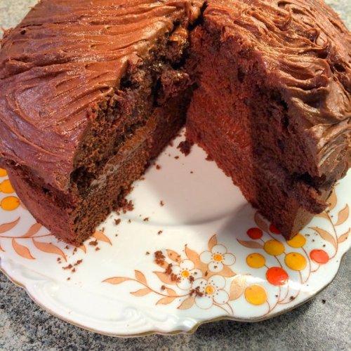 Chocolate Madeira Cake