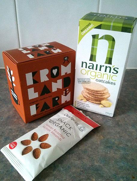 Organic goodies to celebrate Organic September.