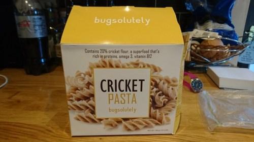 Bugsolutely cricket pasta