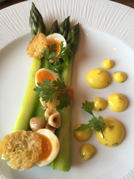 Asparagus & Quail Egg