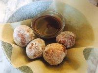 Contini's Italian donuts are deliciou