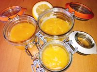 Citrus Curd of Lemon and Orange