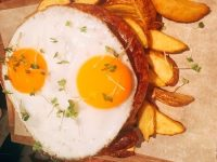 Wednesday Meat Up - Cumberland Sausage, Duck Eggs and Chips