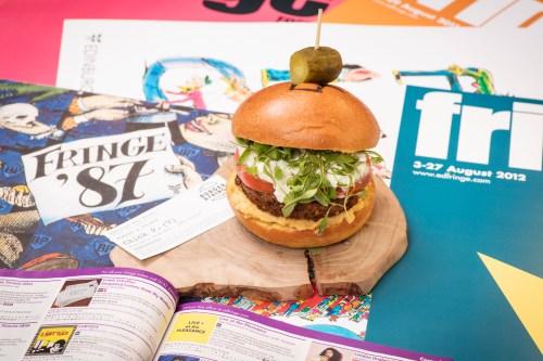 Burger & Fringe at Radisson Blu