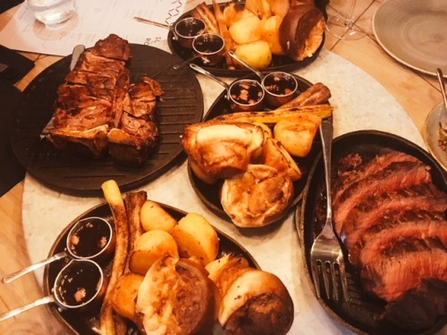 Chop House's piece de resistance - its sharing beef cuts