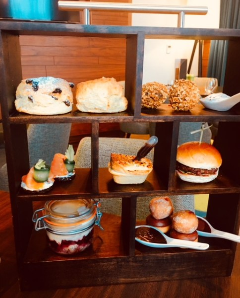 The Bookcase Afternoon Tea at the Lantern Room
