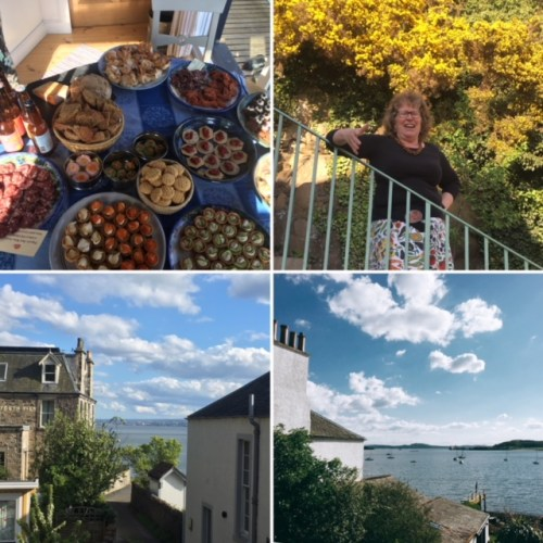 An evening of food and conversation with Les Dames d'Escoffier at Wendy Barrie's idyllic Scottish Food Studio in Fife