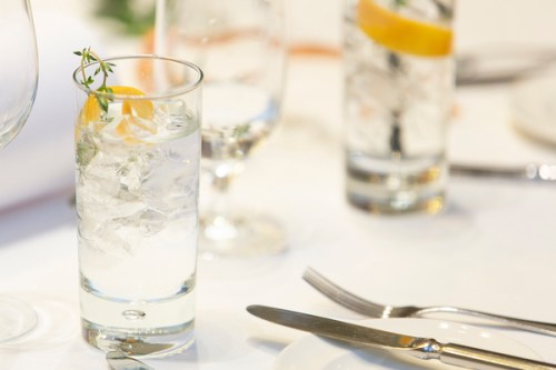 One Square G&T perfect serve