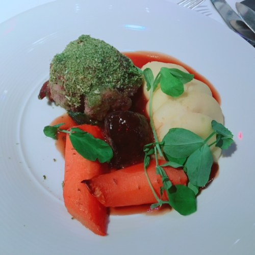 Arran Mustard and Parsley Crusted Scotch Leg of Aberdeenshire Highland Lamb