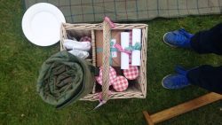 The rooftop picnic hamper at The Glasshouse