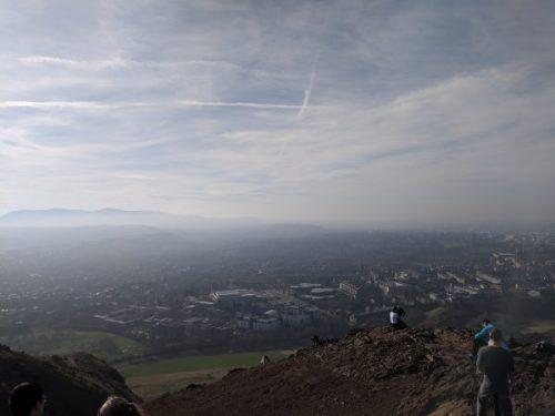 Edinburgh - the view form Arthur's Seat.