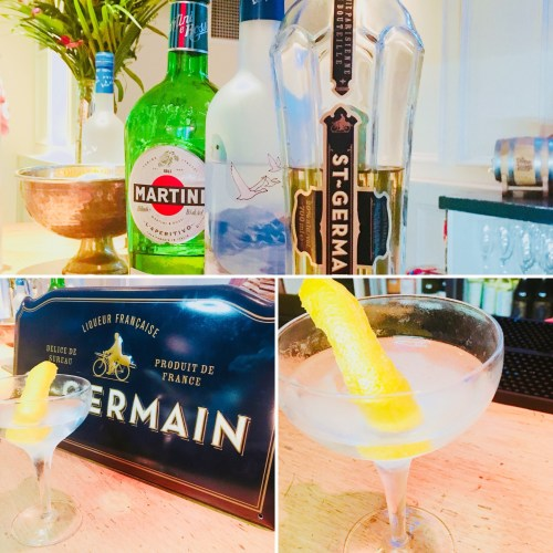 The St Germain Martini