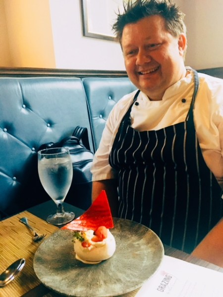 Chef Mark Greenaway joined us for dessert and shared the tricks of the trade