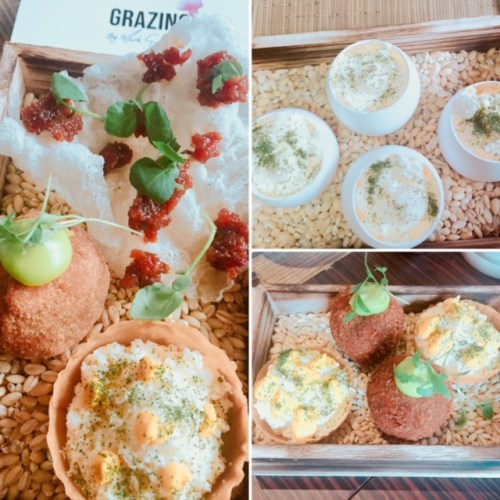 Grazing by Mark Greenaway - Snacks are lovely amuse-bouches