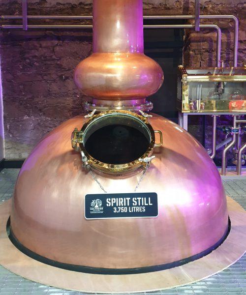 A still at Holyrood Distillery
