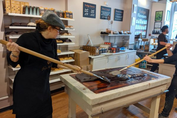 The Fudge Kitchen – making (and eating) vegan fudge