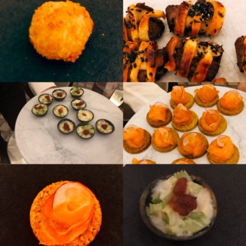 The Signet Library Canapes