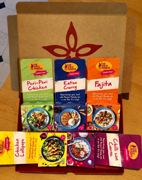 Spice Pioneeers Spice Pods are the solution to quick, easy family favourites