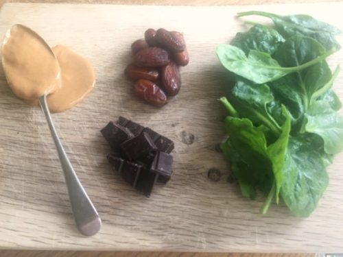 Spinach, dates and dark chocolate: a combo you've considered already?