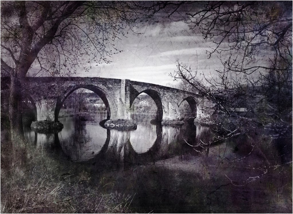 Old Stirling Brig in the Daguerrotype Style by Ian McNaught