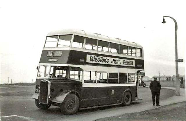Image result for Old Edinburgh buses