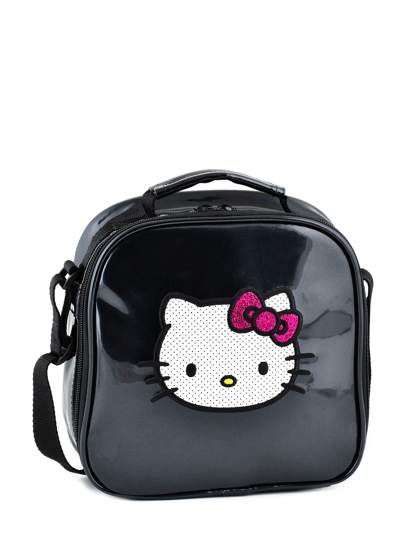 Sac Gouter Hello Kitty Noir E Classic Dot S Hpr