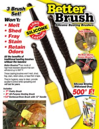 REVOLUTIONARY GRILLING AND COOKING BRUSHES