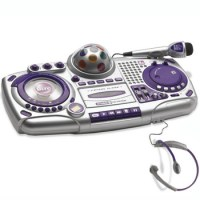 DJ SCRATCH CD MIXER w/ FM RADIO