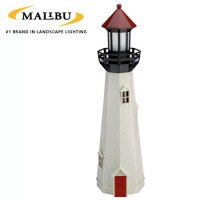 NATURAL ACCENT OUTDOOR LIGHTHOUSE