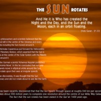 A Set of verses related to various Phenomena in the Universe