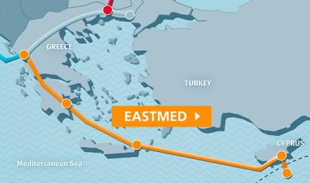 Image result for eastmed pipeline