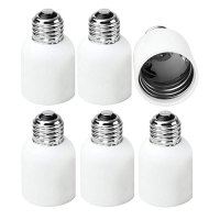 Base adapter; screws onto an E39 Mogul Base bulb for use in an E26 Medium Base Fixture