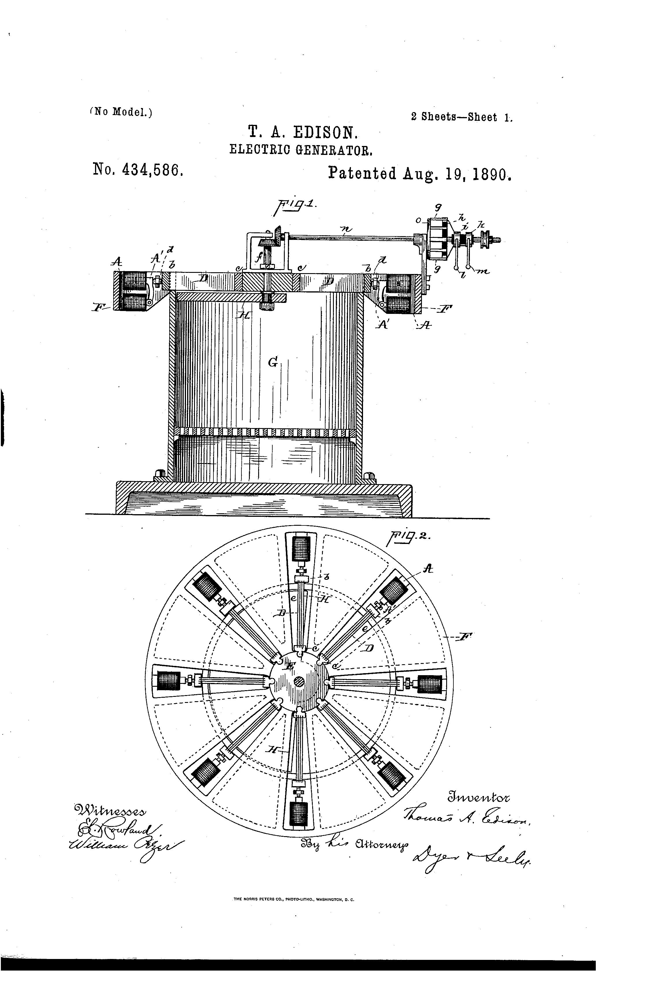 Edison Patents Image Gallery