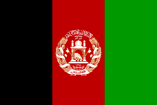 Afghanistan Market Research - flag of Afghanistan