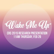 wake me up crs 2015