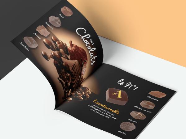 Brochure Auzou chocolat