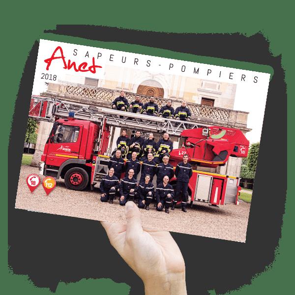calendrier pompiers anet