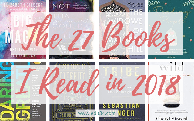 The 27 Books I Read in 2018