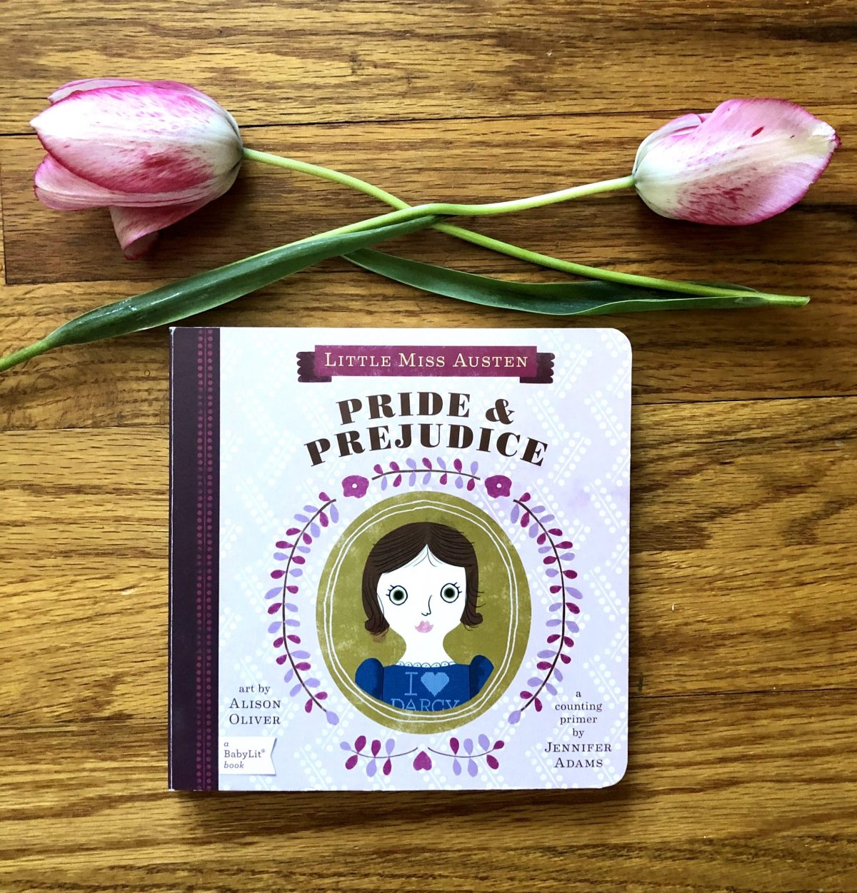 Pride & Prejudice counting book