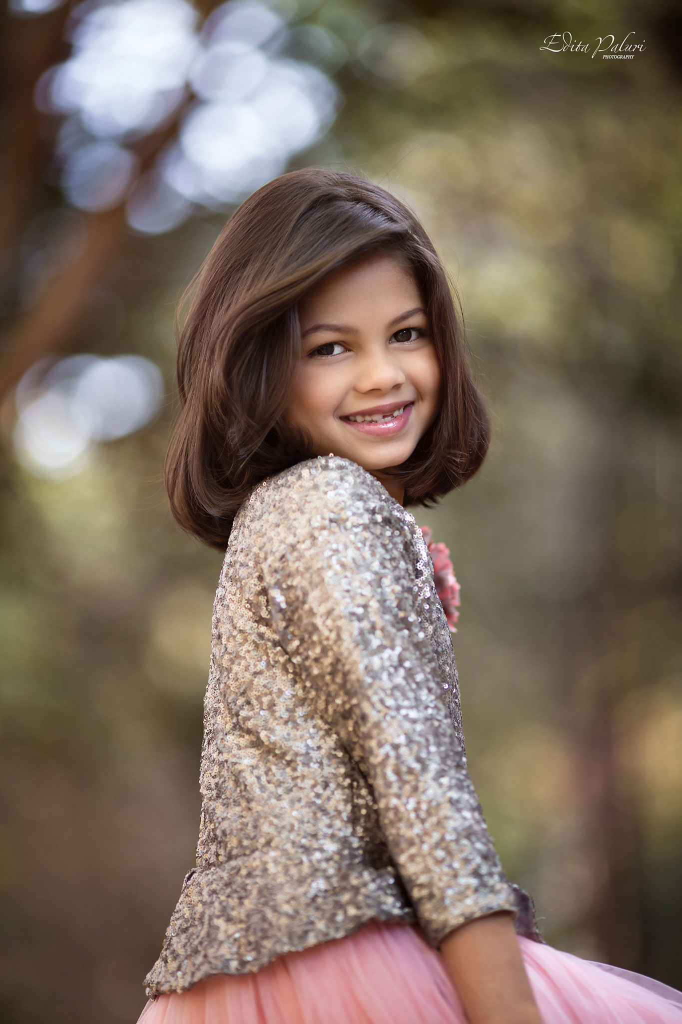 Beautiful 8 Year Old Girl Photo Session