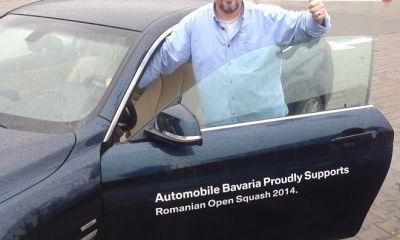 BMW 420d Gran Coupe spre Romanian Open Squash 2014